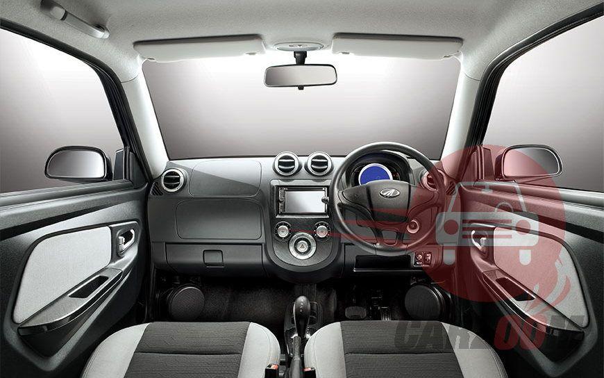 Mahindra e2o Interiors Dashboard