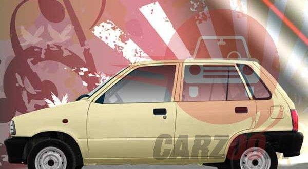 Maruti Suzuki 800 Exteriors Side View