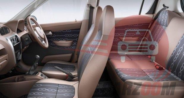 Maruti Suzuki Alto 800 Interiors Seats