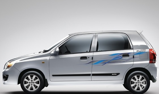 Maruti Suzuki Alto Exteriors Side View
