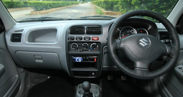 Maruti Suzuki Alto Interiors Dashboard