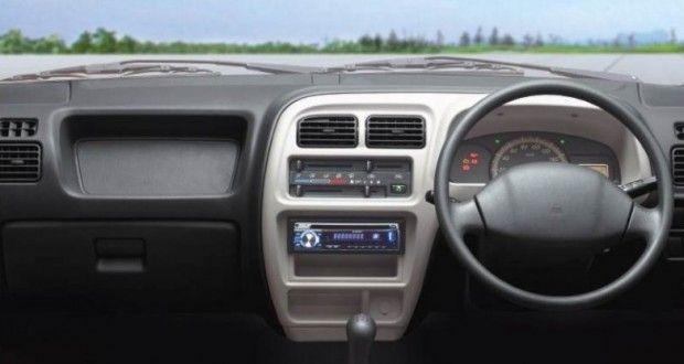 Maruti Suzuki EECO Interiors Dashboard