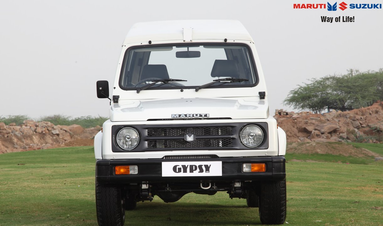 Maruti Suzuki Gypsy King Exteriors Front View