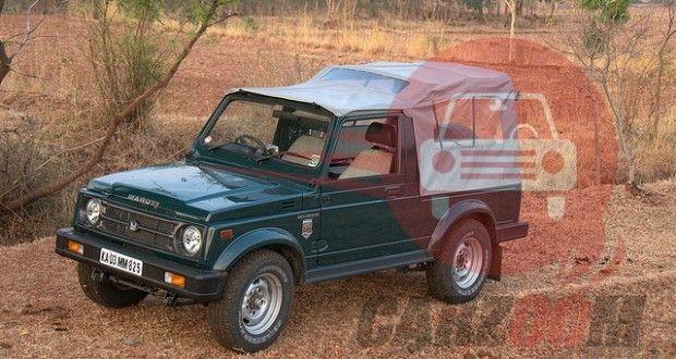 Maruti Suzuki Gypsy-King Exteriors Top View