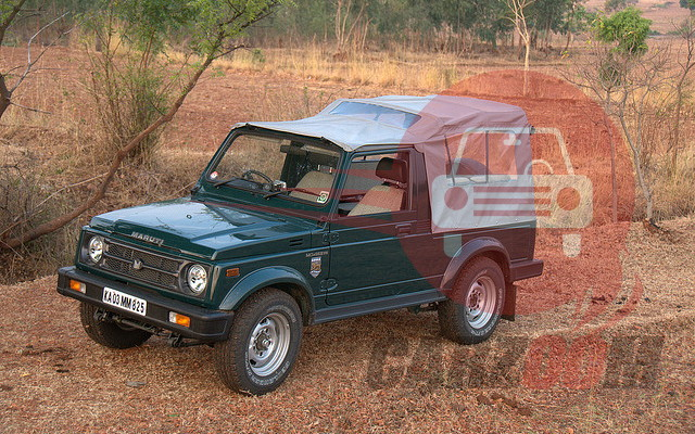 Maruti Suzuki Gypsy King Exteriors Top View