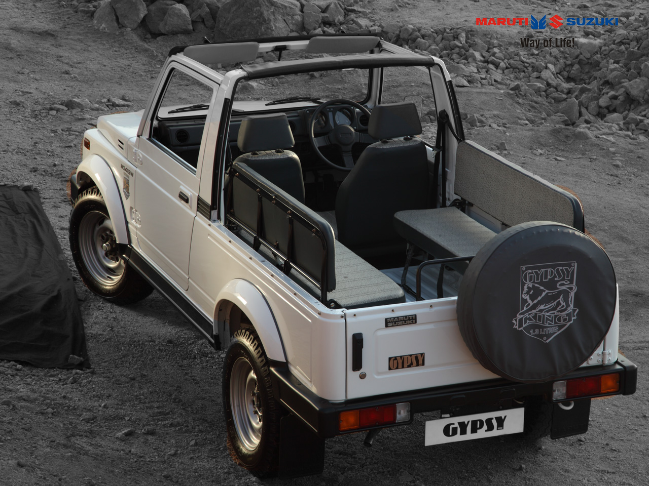 Maruti Suzuki Gypsy King Interiors Seats