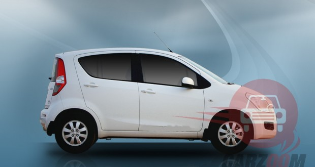 Maruti Suzuki Ritz Exteriors Side View