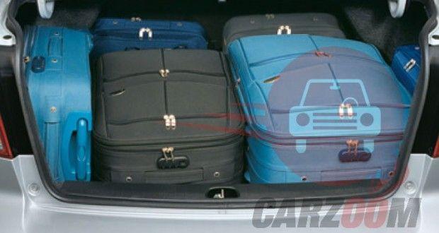 Maruti Suzuki SX4 Interiors Bootspace