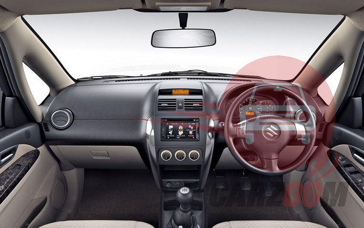 Maruti Suzuki SX4 Interiors Dashboard