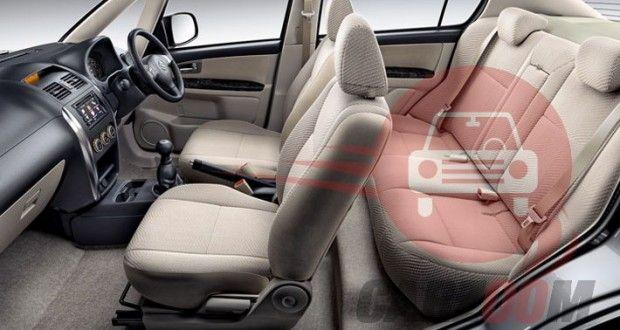Maruti Suzuki SX4 Interiors Seats