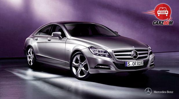Mercedes-Benz CLS Exteriors Front View