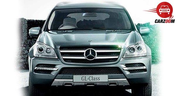 Mercedes-Benz GL Exteriors Front View