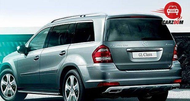 Mercedes-Benz GL Exteriors Side View