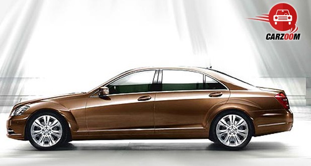 Mercedes-Benz S-Class Exteriors Side View