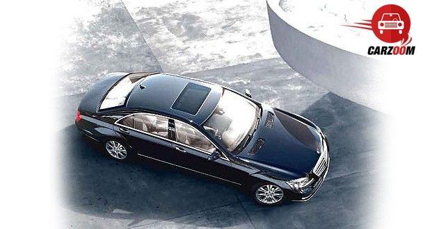 Mercedes-Benz S-Class Exteriors Top View