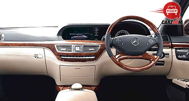Mercedes-Benz S-Class Interiors Dashboard
