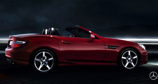 Mercedes-Benz SLK-Class Exteriors Side View