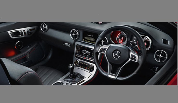 Mercedes-Benz SLK-Class Interiors Dashboard