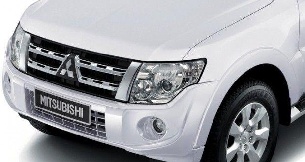 Mitsubishi Montero Exteriors Front View