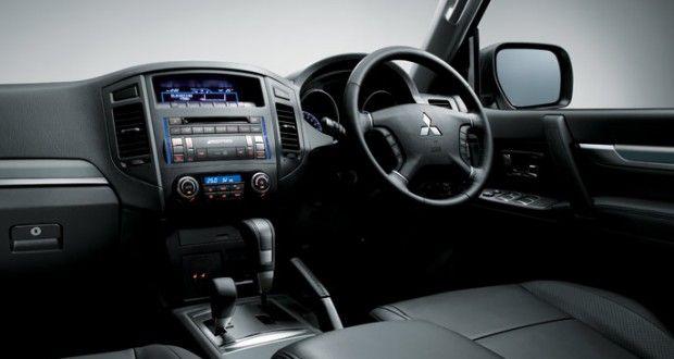 Mitsubishi Montero Interiors Dashboard