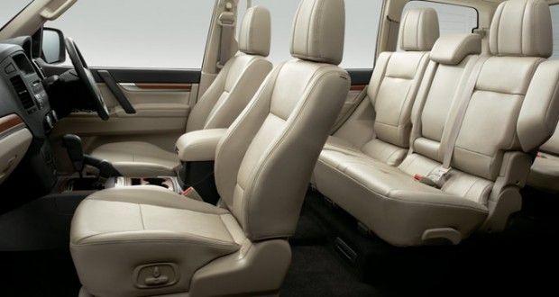 Mitsubishi Montero Interiors Seats