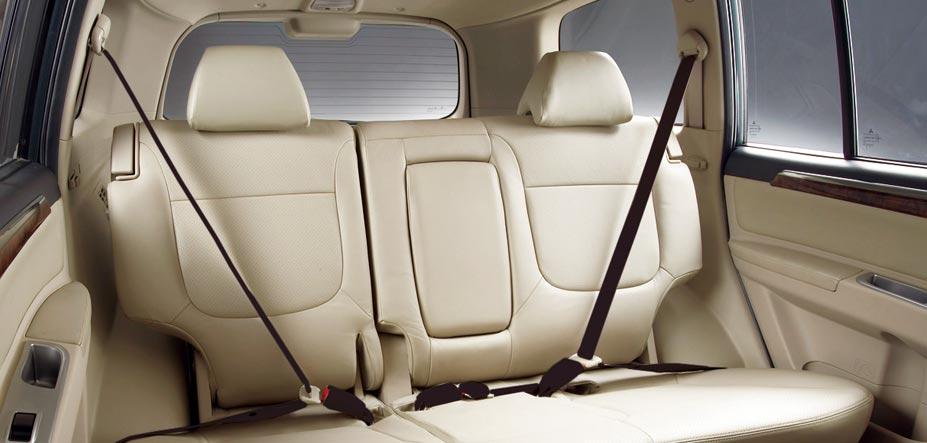 Mitsubishi Pajero Sport Interiors Seats