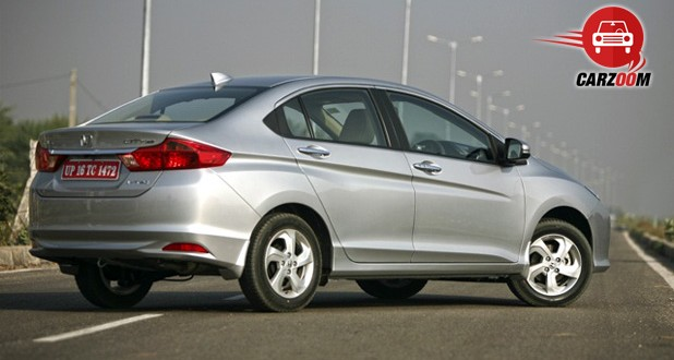 New Honda City 2014 Exteriors Side View