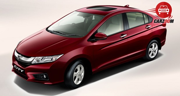 New Honda City 2014 Exteriors Top View