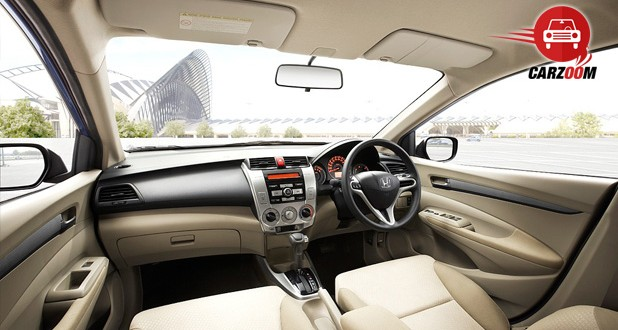 New Honda City 2014 Interiors Dashboard