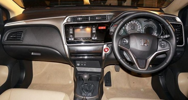 New Honda City Interiors Dashboard