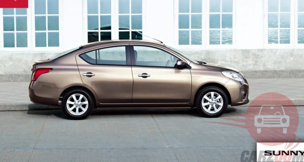 Nissan Sunny Exteriors Side View
