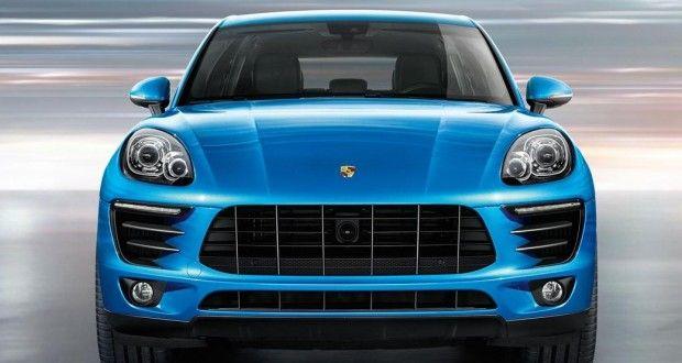 Porsche Macan Exteriors Front View