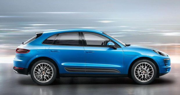 Porsche Macan Exteriors Side View