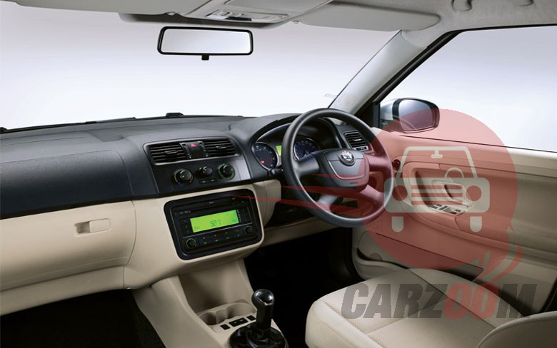 Skoda Fabia Interiors Dashboard
