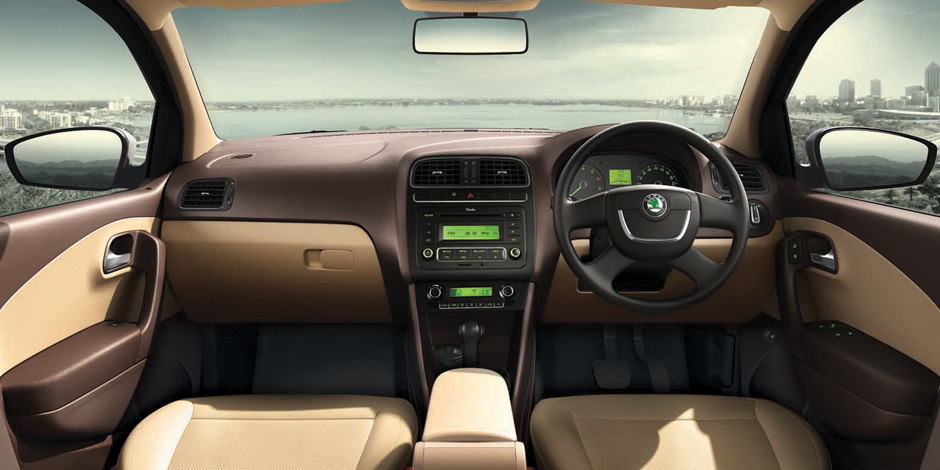 Skoda Rapid Interiors Dashboard