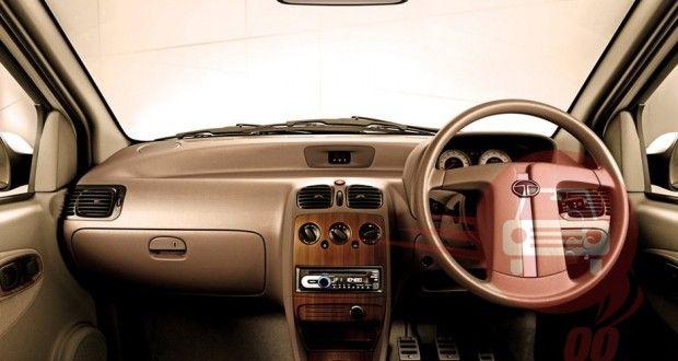 Tata Indigo eCS Interiors Dashboard