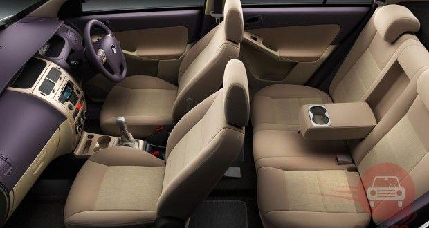Tata Manza Interiors Seats