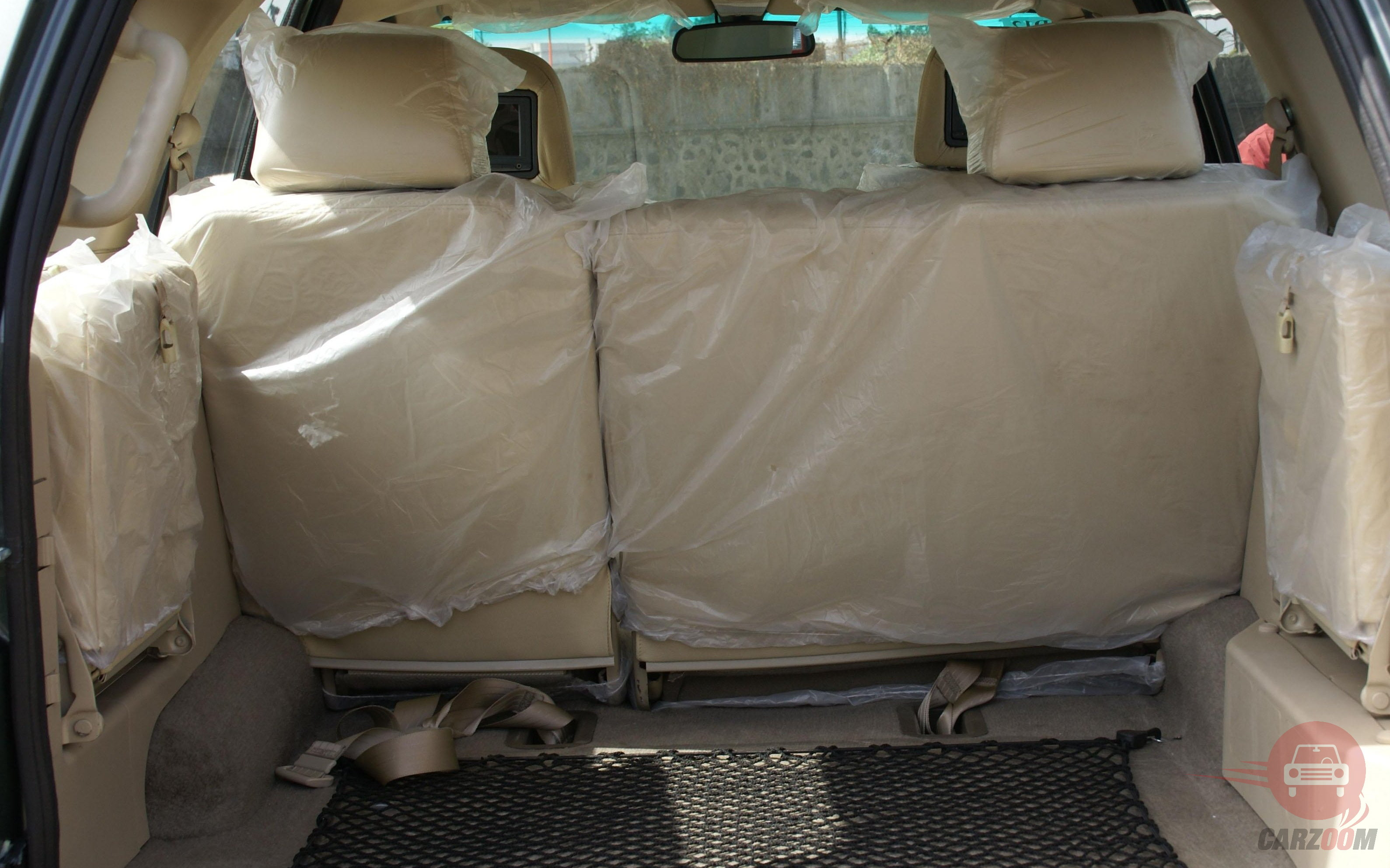 Tata Safari DICOR Interiors Bootspace