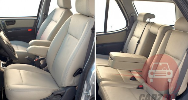 Tata Safari DICOR Interiors Seats