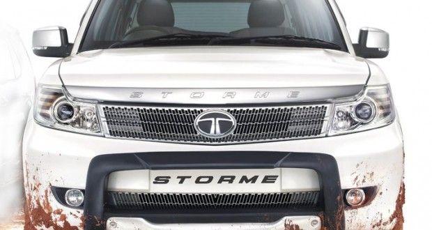 Tata Safari Storme Exteriors Front View