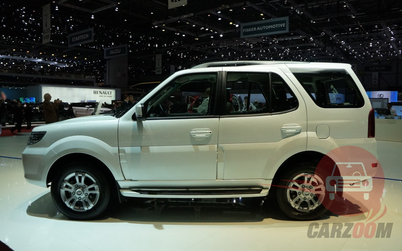 Tata Safari Storme Exteriors Side View