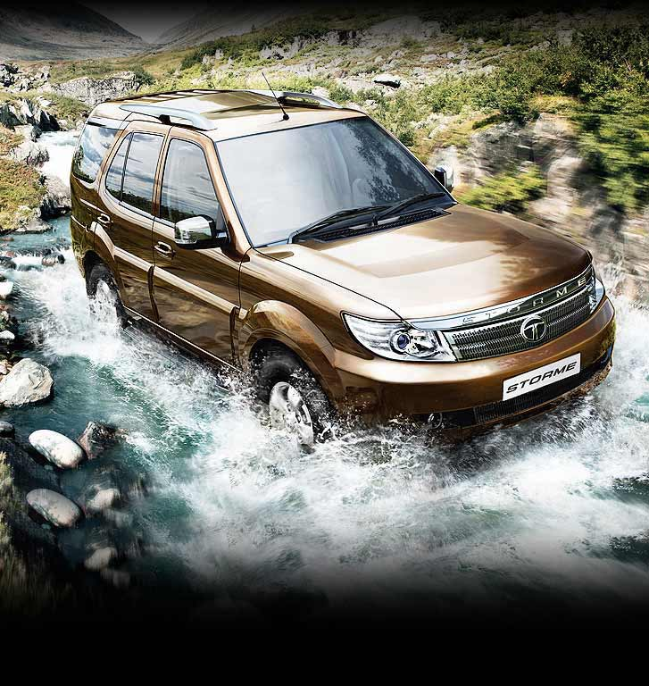 Tata Safari Storme Exteriors Top View