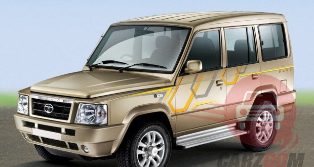 Tata Sumo Gold Exteriors Side View