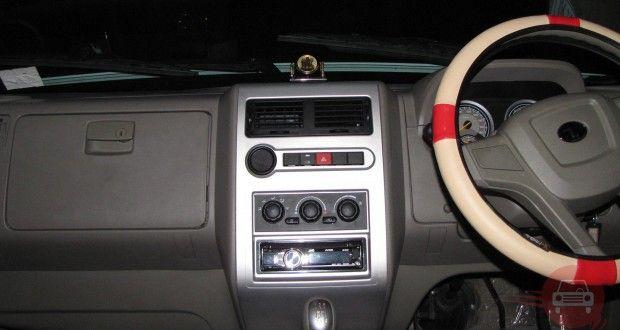 Tata Sumo Grande Interiors Dashboard
