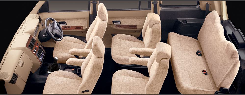 Tata Sumo Grande Interiors Seats