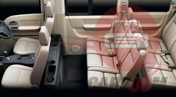 Tata Venture Interiors Seats
