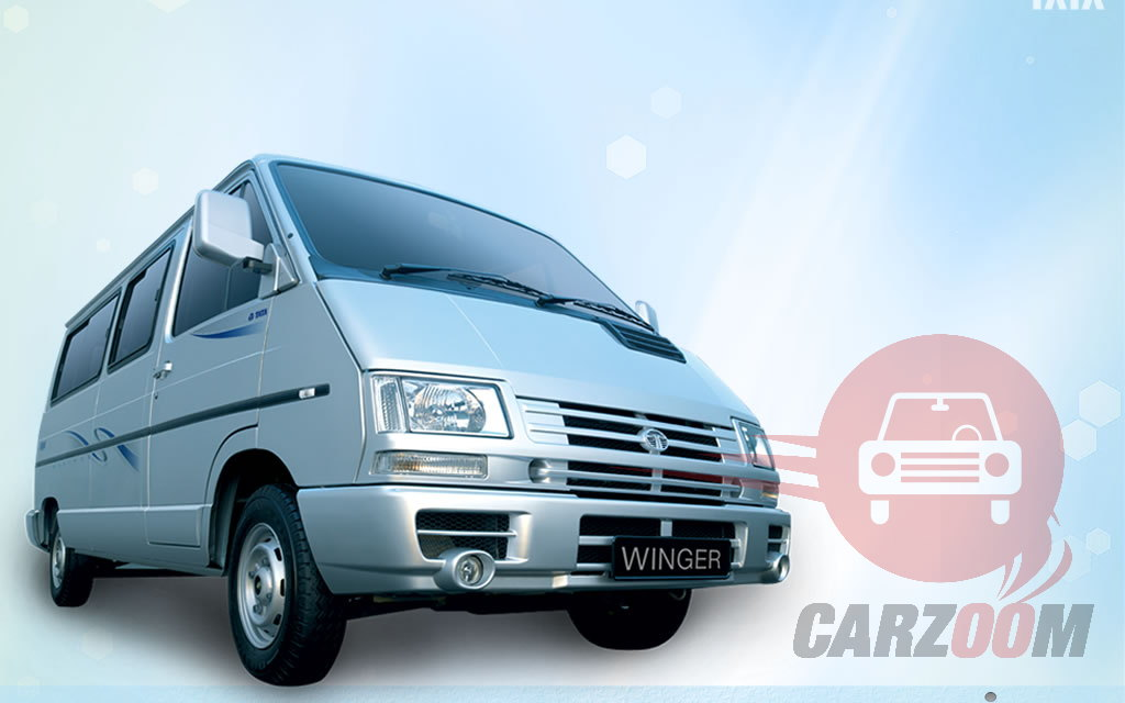 Tata Winger Exteriors Front View