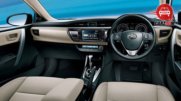 New Toyota Corolla Altis Interiors Dashboard