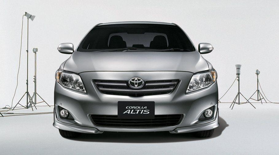 Toyota Toyota Corolla  Exterior Front ViewAltis