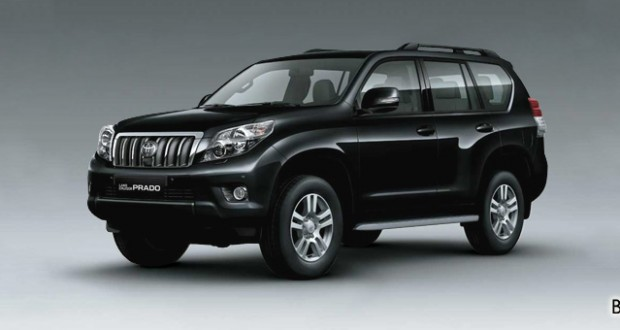 Toyota Land Cruiser Prado Exteriors Side View